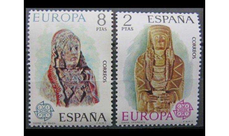 """Испания 1974 г. """"Скульптуры"""""""