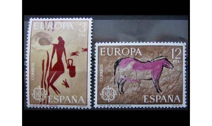 "Испания 1975 г. ""Европа: Картины"""