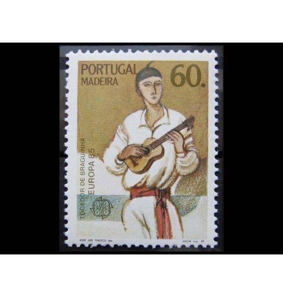 "Мадейра 1985 г. ""Европа: Европейский год музыки"""