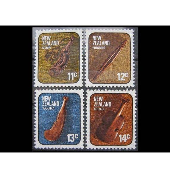 """Новая Зеландия 1976 г. """"Искусство и ремесло народа Маори"""""""