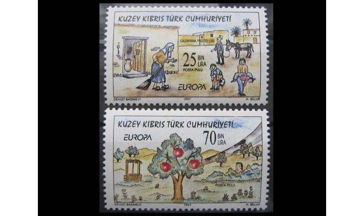 """Турецкий Кипр 1997 г. """"Европа: Саги и легенды"""""""