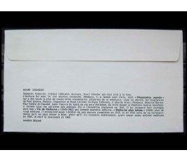 """Франция 1982 г. """"20-летие смерти Анри Мондора"""" FDC"""