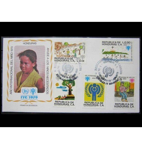 "Гондурас 1980 г. ""Международный год ребенка"" FDC"