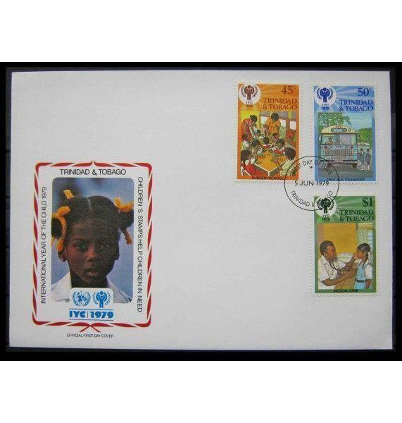 "Тринидад и Тобаго 1979 г. ""Международный год ребенка"" FDC"
