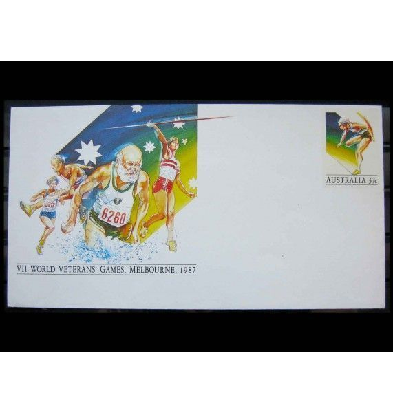 """Австралия 1987 г. """"VII Всемирные игры ветеранов спорта, Мельбурн"""""""