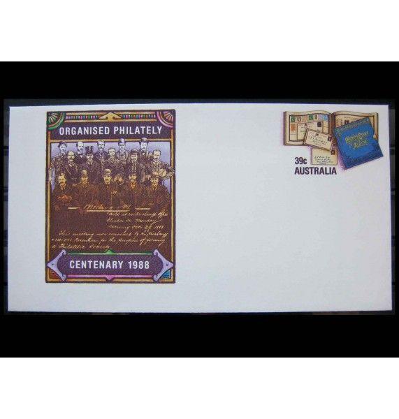 """Австралия 1988 г. """"Организованная филателия"""""""