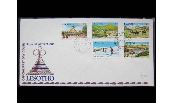 "Лесото 1970 г. ""Туризм"" FDC"