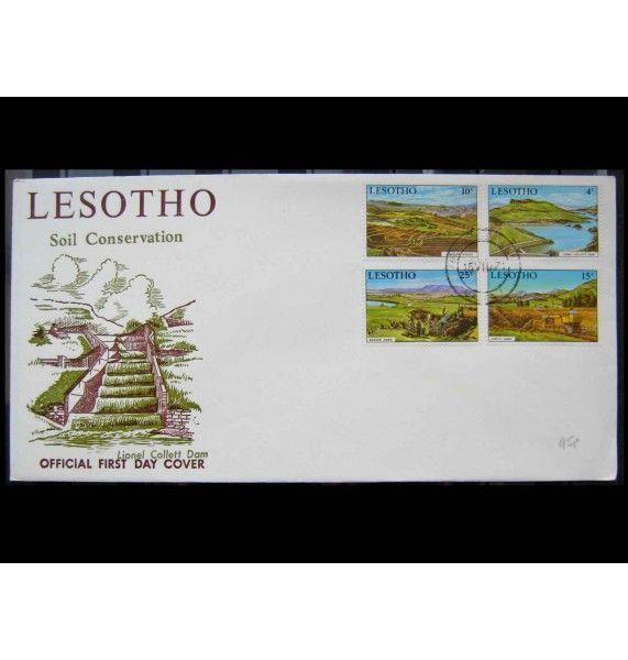 """Лесото 1971 г. """"Охрана природы"""" FDC"""