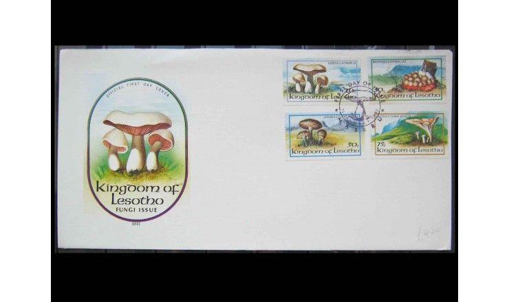 "Лесото 1983 г. ""Грибы"" FDC"