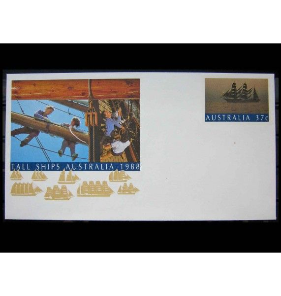 "Австралия 1988 г. ""Австралийская Ассоциация обучения парусному спорту «Tall Ships Australia»"""
