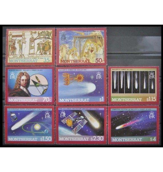 "Монтсеррат 1986 г. ""Комета Галлея"""