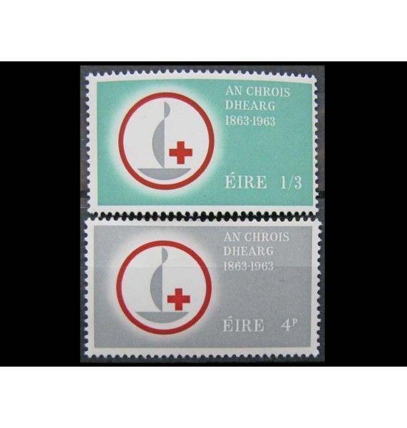 """Ирландия 1963 г. """"100 лет Международному Красному кресту"""""""