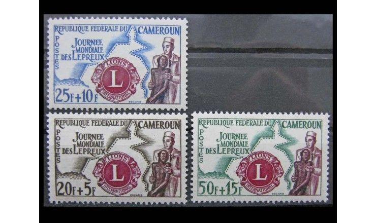 "Камерун 1962 г. ""Международная борьба с лепрой"""