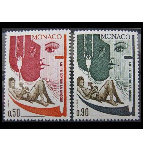 """Монако 1972 г. """"Борьба с наркоманией"""""""