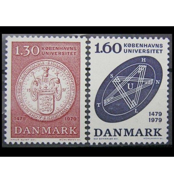"""Дания 1979 г. """"500 лет университету в Копенгагене"""""""