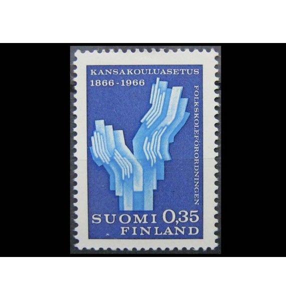 """Финляндия 1966 г. """"100-летие начальной школы"""""""