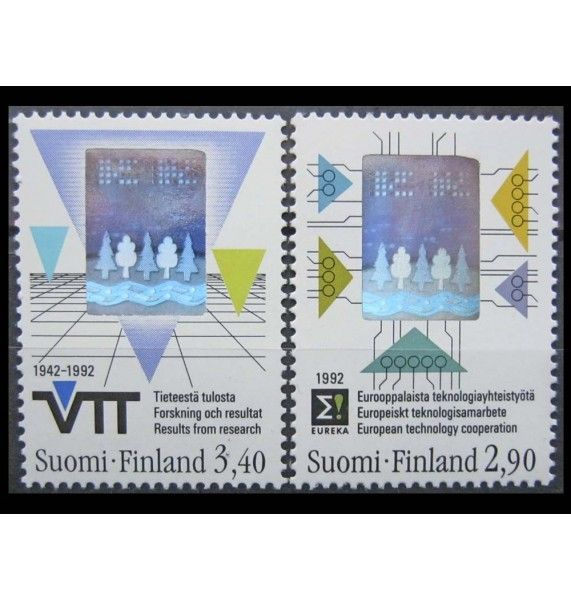 "Финляндия 1992 г. ""Технологии"""