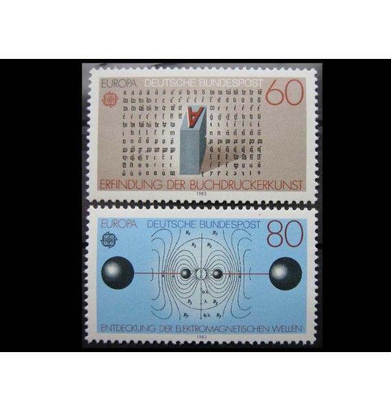 """ФРГ 1983 г. """"Европа: Наука"""""""