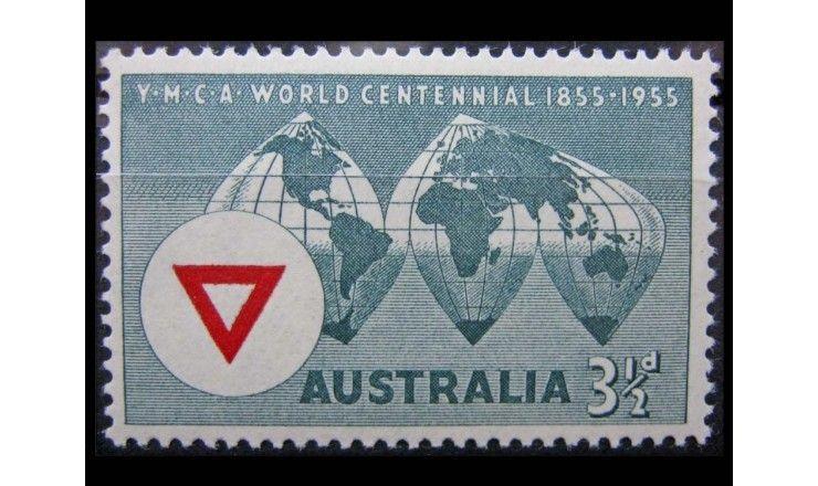 """Австралия 1955 г. """"100-летие YMCA"""""""