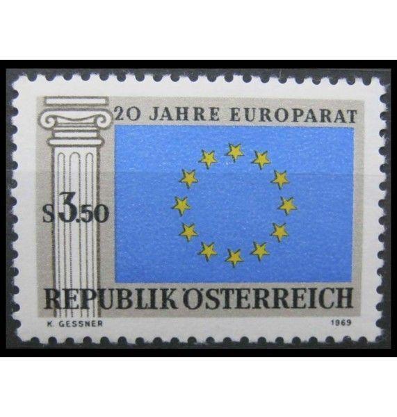 """Австрия 1969 г. """"20-летие Совета Европы"""""""