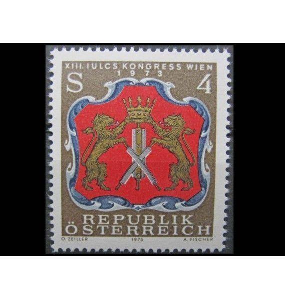 """Австрия 1973 г. """"XIII Конгресс Iulcs"""""""