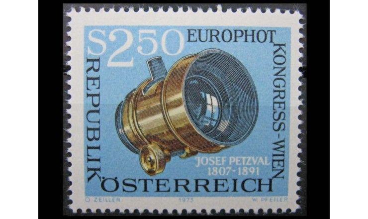 """Австрия 1973 г. """"Конгресс Еврофото в Вене"""""""