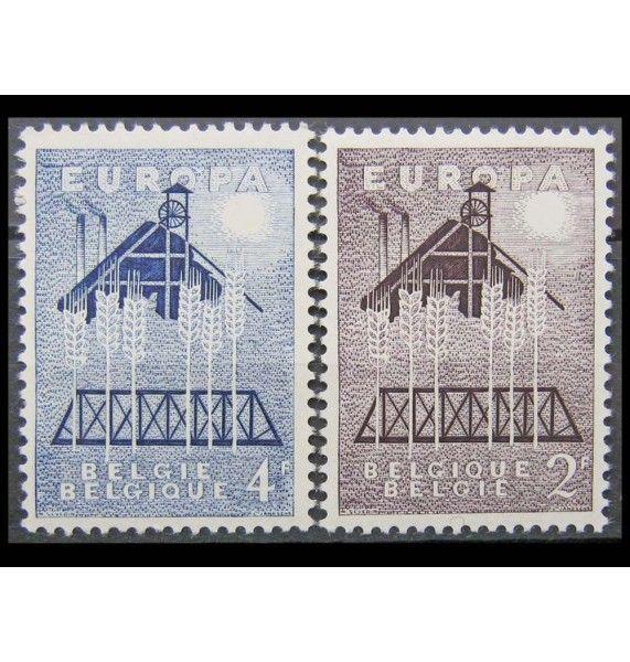 """Бельгия 1957 г. """"Европа С.Е.Р.Т."""""""