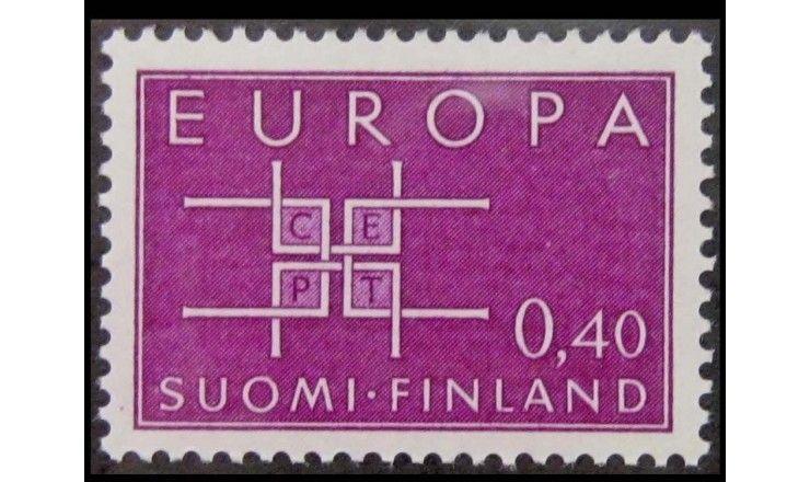 """Финляндия 1963 г. """"Европа C.E.P.T."""""""