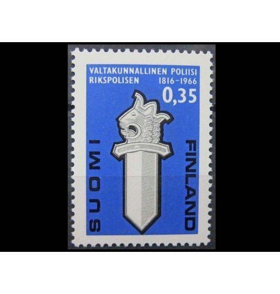 """Финляндия 1966 г. """"150-летие государственной полиции"""""""