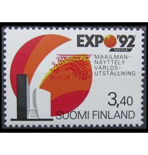 """Финляндия 1992 г. """"Всемирная выставка EXPO"""""""