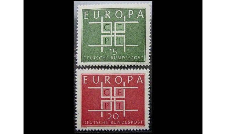 """ФРГ 1963 г. """"Европа C.E.P.T."""""""