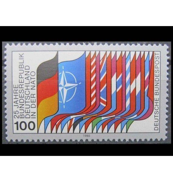 """ФРГ 1980 г. """"25-летие членства в НАТО"""""""