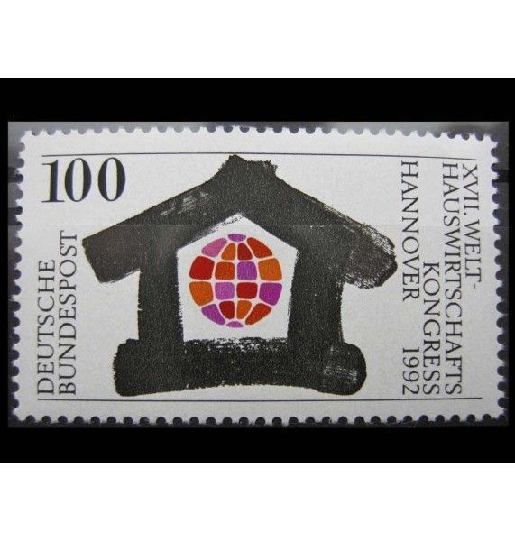 """ФРГ 1992 г. """"Всемирная экономическая конференция, Ганновер"""""""