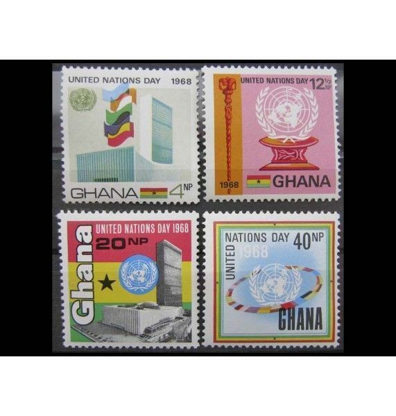 "Гана 1969 г. ""День ООН"""