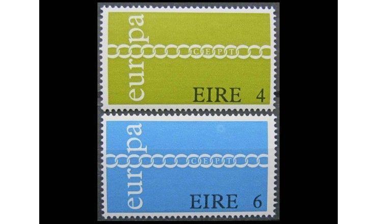 "Ирландия 1971 г. ""Европа C.E.P.T."""