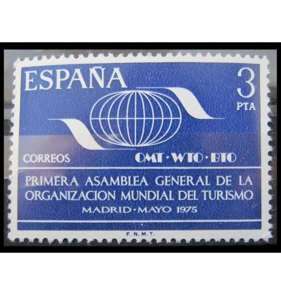 """Испания 1975 г. """"Ген.ассамблея Всемирной туристской организации"""""""