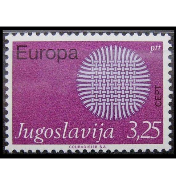 """Югославия 1970 г. """"Европа C.E.P.T."""""""