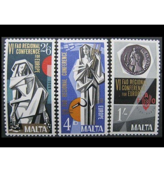"""Мальта 1968 г. """"Европейская конференция FAO"""""""