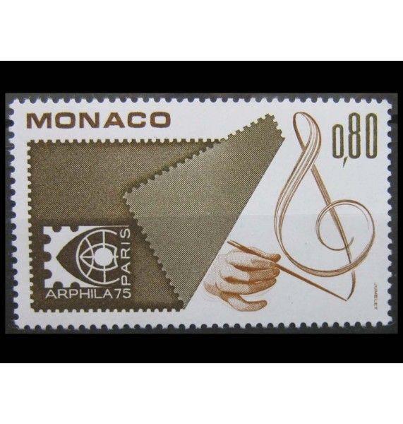 """Монако 1975 г. """"Международная выставка ARPHILA в Париже"""""""