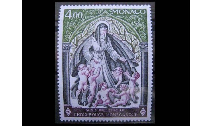 """Монако 1976 г. """"Красный Крест Монако"""""""
