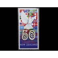 """Новая Зеландия 1995 г. """"50 лет ООН"""""""