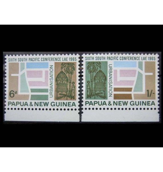 """Папуа-Новая Гвинея 1965 г. """"Южнотихоокеанская конференция"""""""