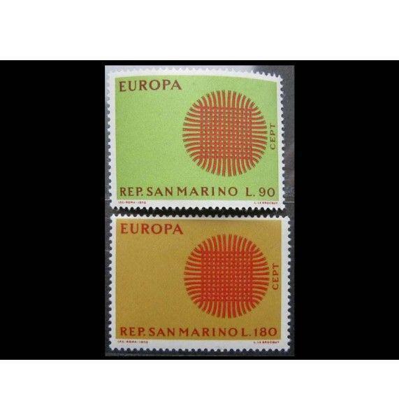 """Сан-Марино 1970 г. """"Европа C.E.P.T."""""""