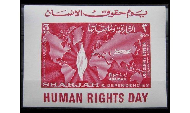 """Шарджа 1964 г. """"День прав человека"""""""