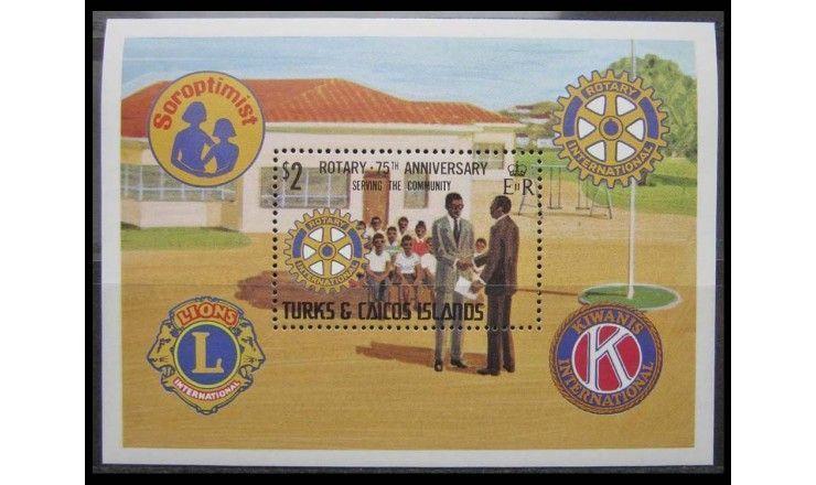 """Теркс и Кайкос 1980 г. """"Международная организация помощи"""""""