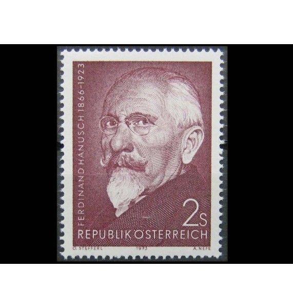 """Австрия 1973 г. """"Фердинанд Хануш"""""""