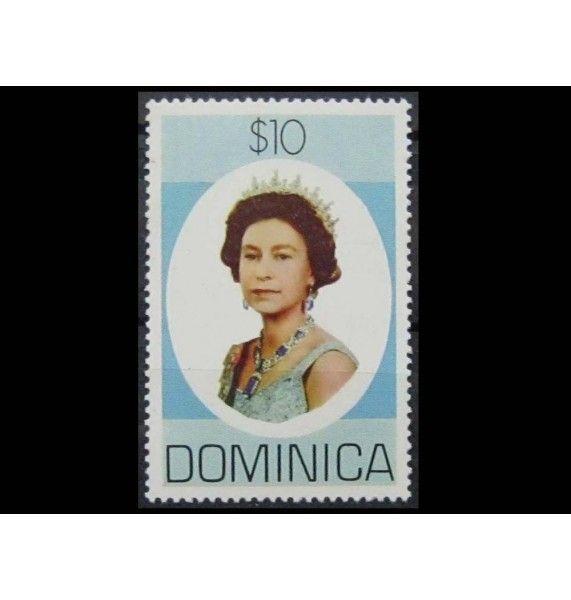 """Доминика 1978 г. """"Королева Елизавета II"""""""