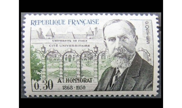 "Франция 1960 г. ""Andre Honnorat"""