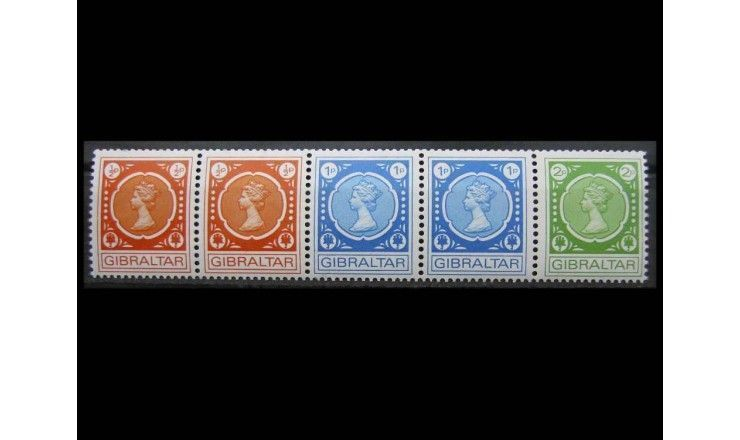 """Гибралтар 1971 г. """"Королева Елизавета II"""""""