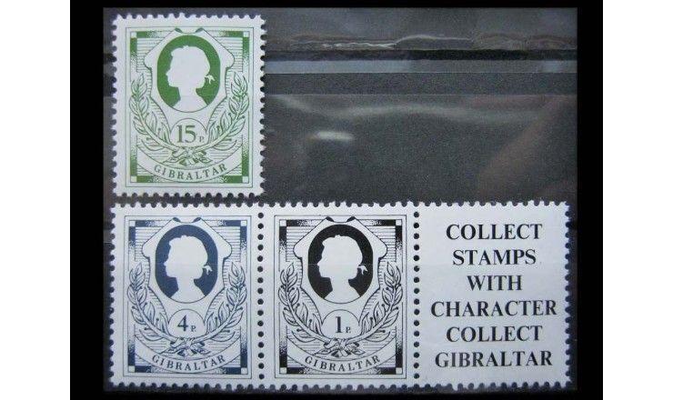 """Гибралтар 1981 г. """"Королева Елизавета II"""""""
